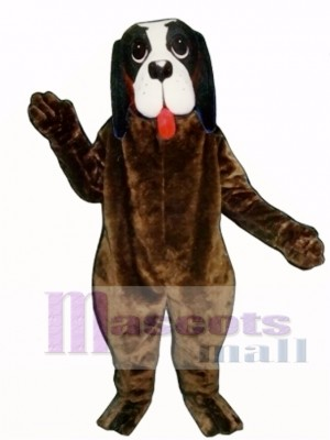Cute Barney Dog Mascot Costume Animal
