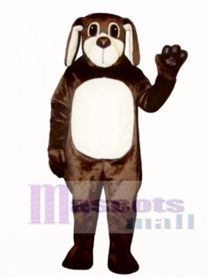 Cute Brown Dog Mascot Costume Animal