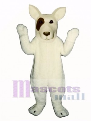Cute Bull Terrier Dog Mascot Costume Animal