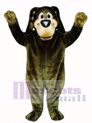 Cute Harold Hound Dog Mascot Costume Animal