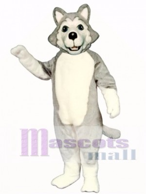 Cute Wolf Dog Mascot Costume Animal