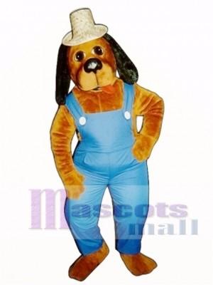 Cute Hoe-Down Hound Dog Mascot Costume Animal