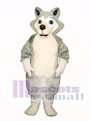 Cute Herman Husky Dog Mascot Costume Animal