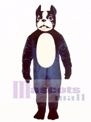 Cute Boston Terrier Dog Mascot Costume Animal