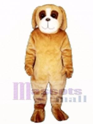 Cute Barkley Dog Mascot Costume Animal