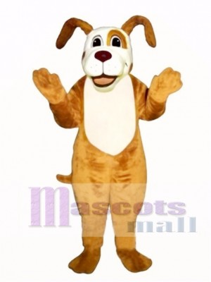 Cute Digger Dog Mascot Costume Animal
