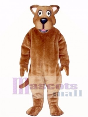 Cute Watch Dog Mascot Costume Animal