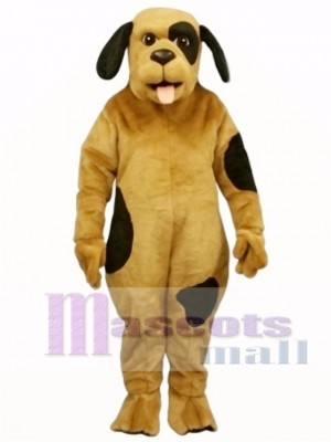 Cute Spotted Pooch Dog Mascot Costume Animal