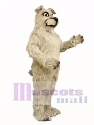 Cute Snarling Pooch Dog Mascot Costume Animal