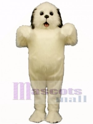 Cute Shaggy Maggy Dog Mascot Costume Animal