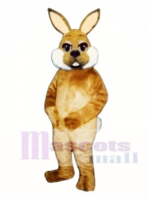 Cute Easter Brown Bunny Rabbit Mascot Costume Animal
