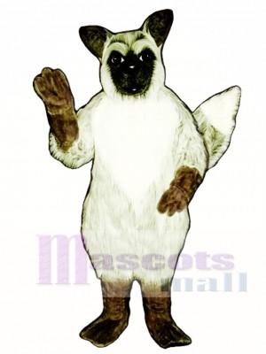 Cute Grey Fox Mascot Costume Animal