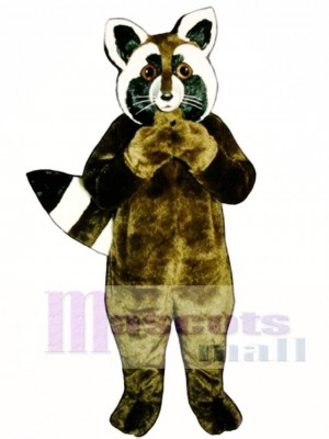 Corkie Coon Raccoon Mascot Costume Animal