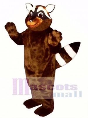 Foxy Raccoon Mascot Costume Animal
