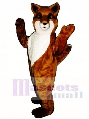 Cute Friendly Fox Mascot Costume Animal