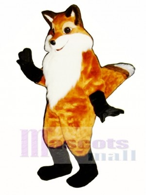 Cute Fancy Fox Mascot Costume Animal