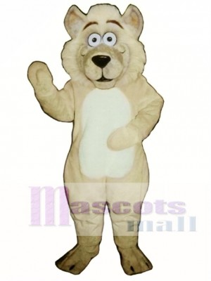 Cute Baby Wolf Mascot Costume Animal