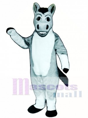 Cute Denny Donkey Mascot Costume Animal