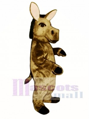 Cute Donkey Mascot Costume Animal