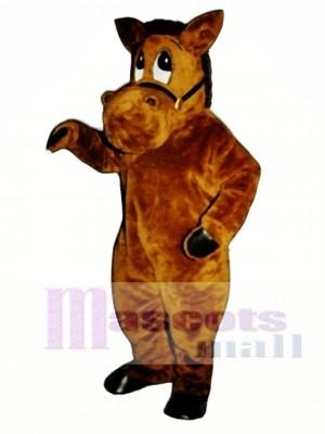 Cute Barney Burro Donkey Mascot Costume Animal