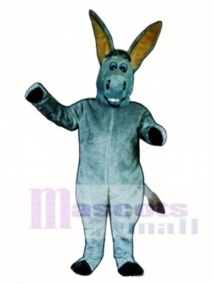 Cute Dopey Donkey Mascot Costume Animal