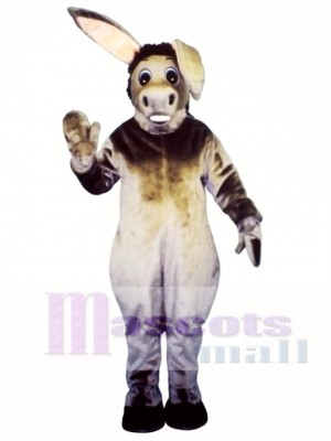 Cute Bobbie Burro Donkey Mascot Costume Animal