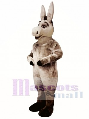 Cute Donald Donkey Mascot Costume Animal