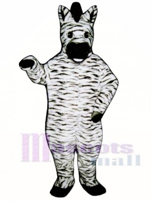 Zelda Zebra Mascot Costume Animal