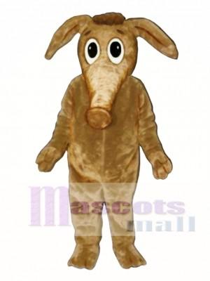 Comic Aardvark Mascot Costume Animal
