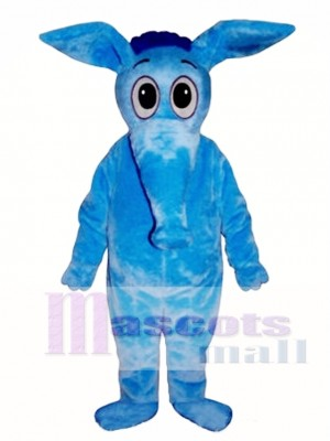 Blue Aardvark Mascot Costume Animal