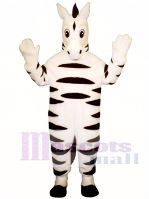 Baby Zebra Mascot Costume Animal