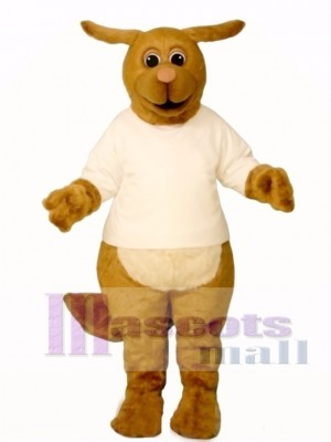Rhudy Roo Dog with Shirt Mascot Costume Animal