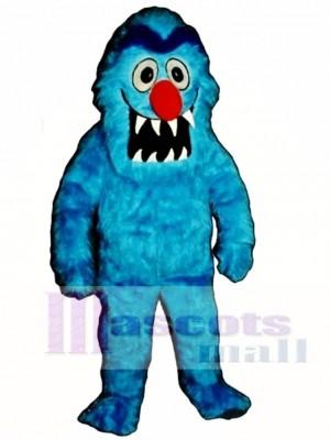 Blue Monster Mascot Costume