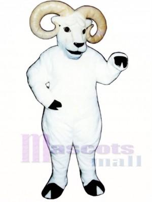 Cute Ram Mascot Costume Animal