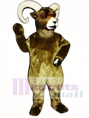 Mountain Goat Mascot Costume Animal