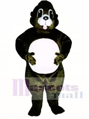 Happy Groundhog Mascot Costume Animal