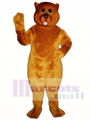 Marsha Marmot Groundhog Mascot Costume Animal