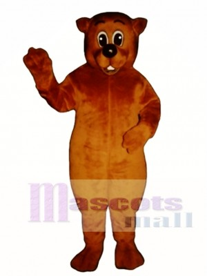 Chuckie Woodchuck Mascot Costume Animal