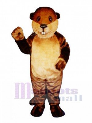 Benny Beaver Mascot Costume Animal