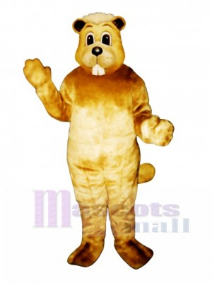 Willy Beaver Mascot Costume Animal