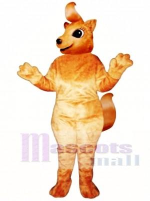 Girly Squirrel Mascot Costume Animal