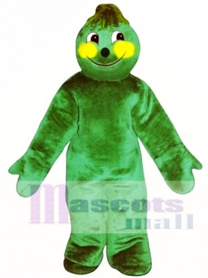 Brussel Sprout Mascot Costume Plant
