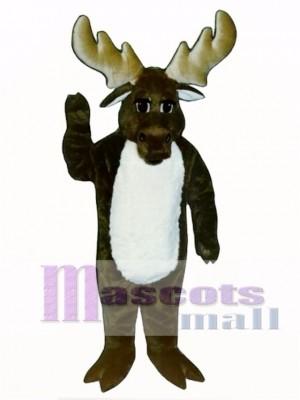 Cute Monty Moose Mascot Costume Animal