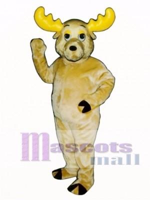 Cute Morty Moose Mascot Costume Animal