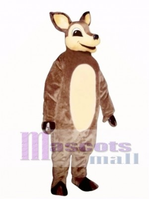 Cute Dingie Deer Mascot Costume Animal