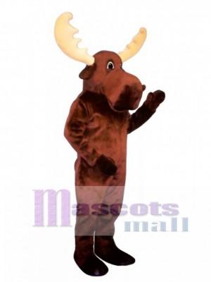 Cute Bull Moose Mascot Costume Animal
