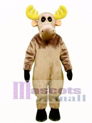 Cute Mildred Moose Mascot Costume Animal