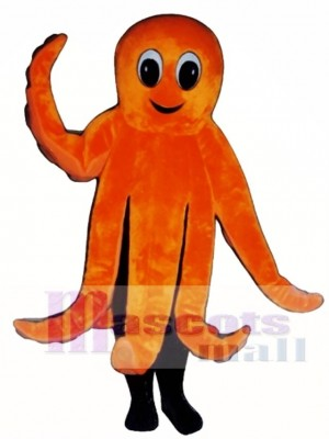 Cute Octopus Mascot Costume Animal