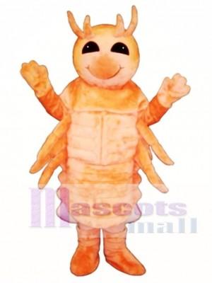 Cute Shrimp Mascot Costume Animal