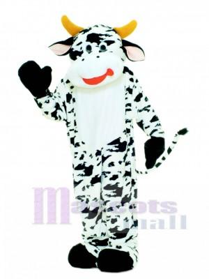Cute Deluxe Moo Cow Mascot Costume Animal
